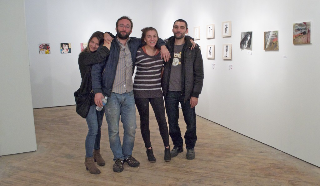 Corrina Mehiel, Paul Rodgers, Anastasiya Yatsuk and Zach Sawan